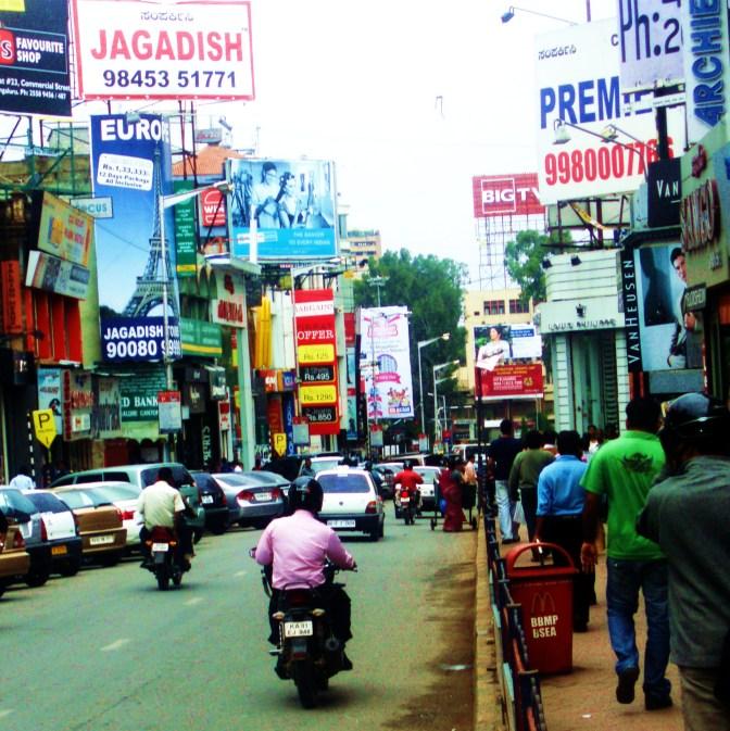 Travel writing: Bangalore, India